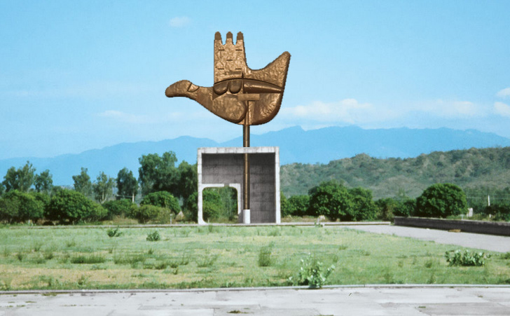 Do You Know The Story Behind Open Hand Monument In Chandigarh
