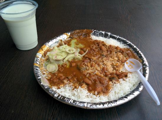 Rajma Rice at Student Centre