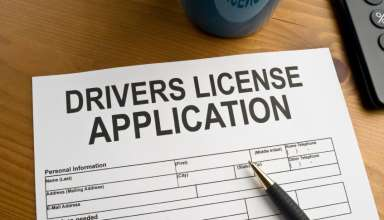 Driving License or Registration of cars