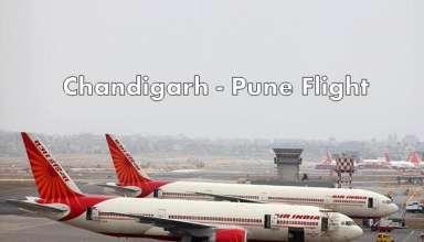 Chandigarh to Pune flight