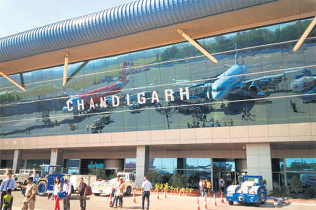 Flight Schedule from Chandigarh to Hyderabad and Chennai