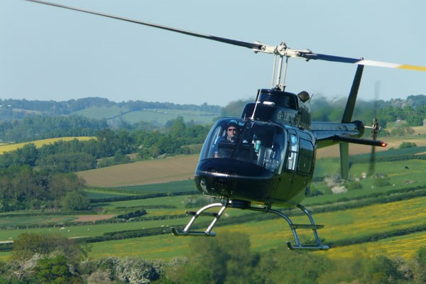 Book tickets for helicopter ride at Rose Festival