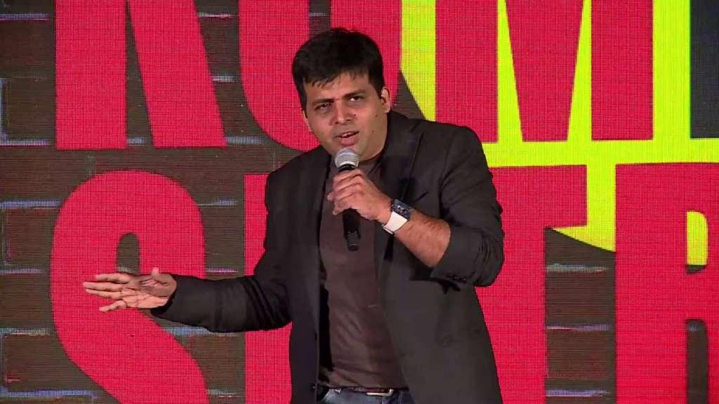 Comedian Amit Tandon