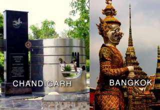 direct flight from Chandigarh to Bangkok