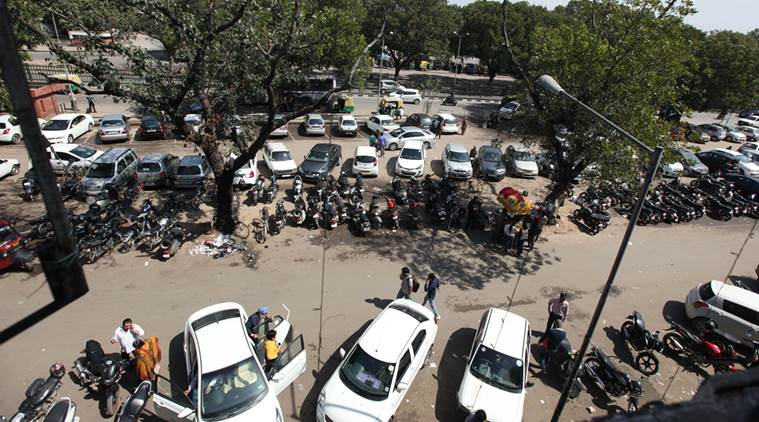 hike in the Parking Charges in Chandigarh