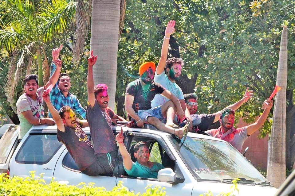 Holi Party Places in Chandigarh