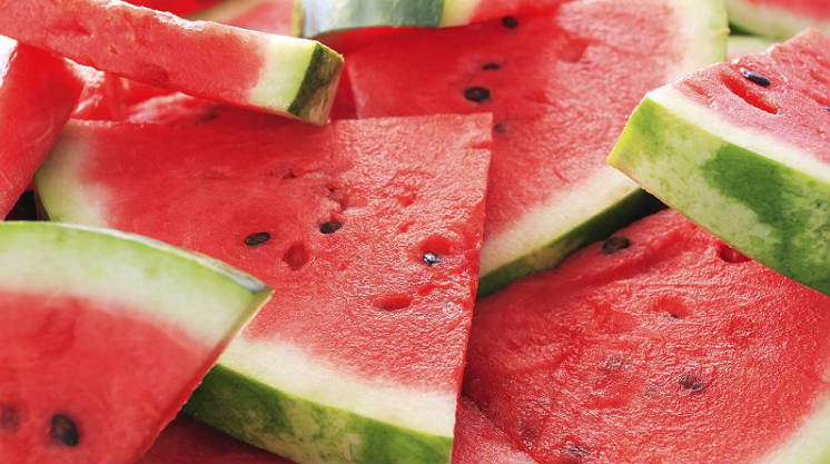 watermelon fruits and vegetables full of water