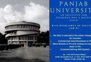 The Solutions Proposed By The NGO, 'I AM STILL HUMAN' For Solving The Financial Crunch Of Panjab University