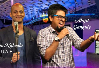 Comedy Nights In Chandigarh With Adnan Nalwala And Abijit Ganguly