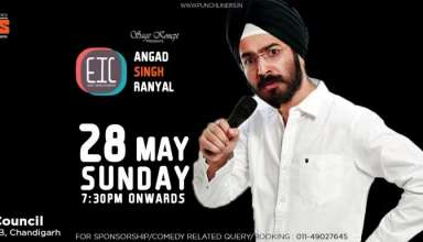 Stand-Up Comedy Show Ft. Angad Singh Ranyal In Chandigarh Details