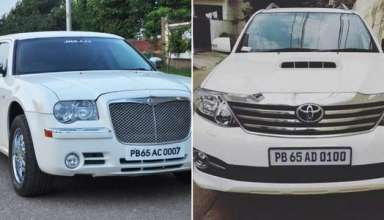 """VIP Numbers in Mohali Are Making People Crazy – """"AK47"""" Goes For Rs 7.38 Lakh"""
