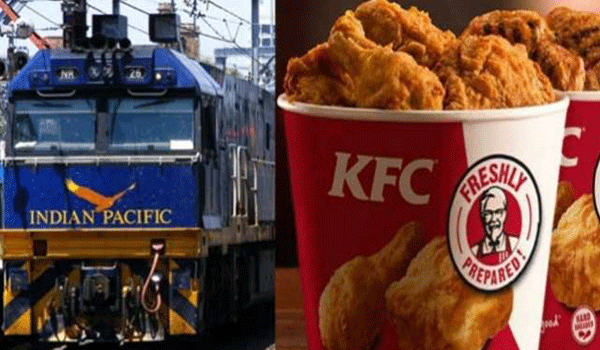 Domino's and McDonald's Will Deliver Food In Rajdhani And Shatabdi Trains